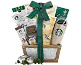 Starbucks Coffee and Teavana Tea Extravagant Gift Basket. A Succulent and Delectable Gift Idea For Birthday, Baby Shower, Holiday Gift or as a Corporate Gift.
