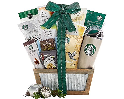 Starbucks Coffee and Teavana Tea Extravagant Gift Basket