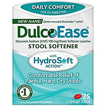 Amazon Com Dulcolax Laxative 25 Soft Gels Health