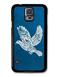 AMAF ? Accessories Coldplay Ghost Stories Album Artwork Dove with Drawings case for Samsung Galaxy S5 wangjiang maoyi by lolosakes
