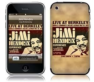 MusicSkins, MS-JIMI40001, Jimi Hendrix? - Live At Berkeley, iPhone 2G/3G/3GS, Skin