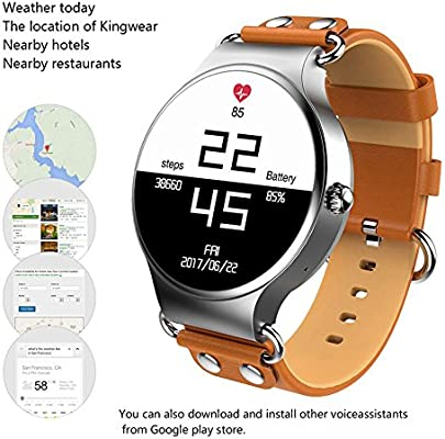 King Wear kw98 1,39 Pulgadas HD Bluetooth Smart Watch con 3 Sensor ...
