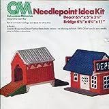 Columbia-Minerva Plastic Canvas Needlepoint Kit 8273, Train Depot - Best Reviews Guide