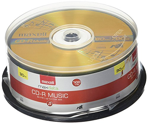 Maxell 625335 Recordable Cd  3-Pack