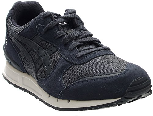 Tiger Leather Sneakers (ASICS GEL-Classic Retro Running Shoe, Navy/Navy, 10 M US)