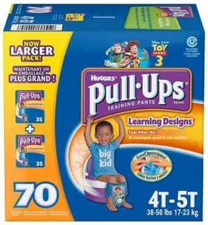 4T-5T Pull-Ups Learning Designs Boys Training Pants 17 Ct