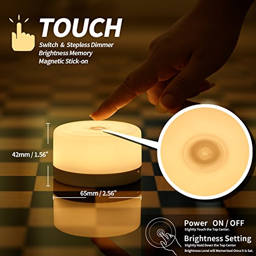Review FC-Fancier Dimmable Touch Light,Bedside