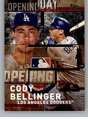 6e0a3add Amazon.com: 2018 Topps MLB Opening Day Black #OD-5 Cody Bellinger NM ...