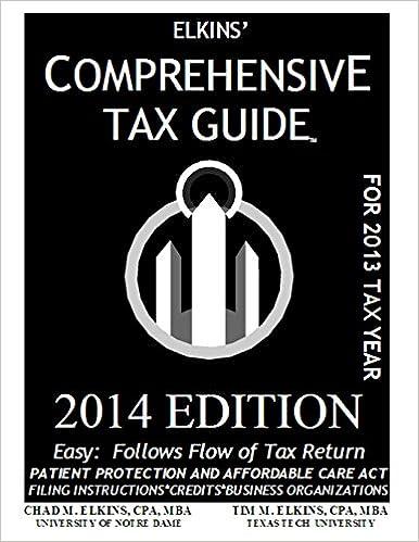 Descargar Mejortorrent Elkins' Comprehensive Tax Guide - 2014 Edition Libro Patria PDF
