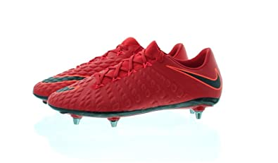 best loved 697b6 d0b2d Amazon.com | Nike Hypervenom Phantom III SG-Pro Red/Black ...