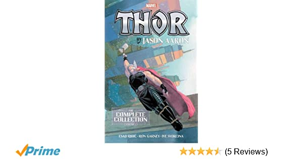 Amazon com: Thor by Jason Aaron: The Complete Collection Vol  1