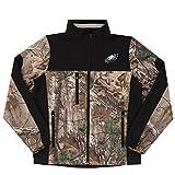 NFL Philadelphia Eagles Hunter Colorblocked Softshell Jacket, Real Tree Camouflage, Small