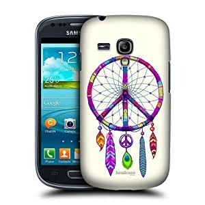 AIYAYA Samsung Case Designs Catcher Peace Emblems Protective Snap-on Hard Back Case Cover for Samsung Galaxy S3 III mini I8190