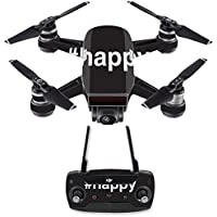 Skin for DJI Spark Mini Drone Combo - Happy| MightySkins Protective, Durable, and Unique Vinyl Decal wrap cover | Easy To Apply, Remove, and Change Styles | Made in the USA