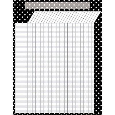 Black Polka Dots Incentive Chart [Set of 3]