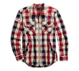 Apparel : Harley-Davidson Men's #1 Plaid Zippered Shirt