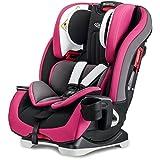美国Graco 葛莱 儿童汽车安全座椅 基石系列 4段背靠角度调节 10段头靠高度调节 五点式安全带 紫色 0-12岁 8AE99PRPN