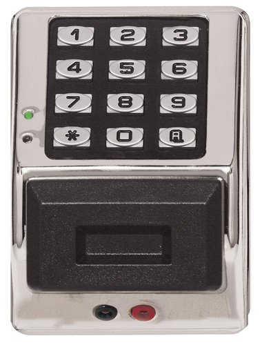 Image of Alarm Lock Systems Inc. PDK3000 MS Trilogy T3 Prox/Keypad Al, Metalic Silver Home Security Systems