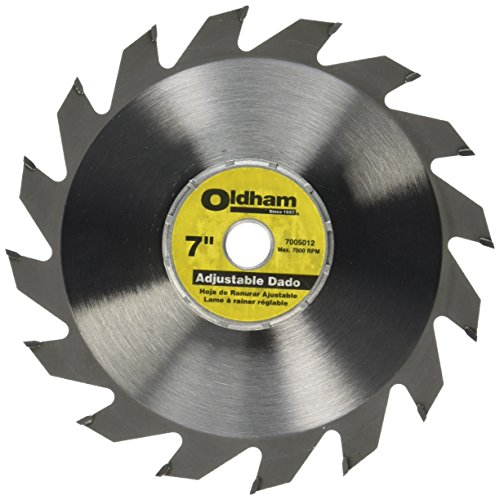 - Porter-Cable 7005012 Oldham 7-in Adjustable Dado Blade