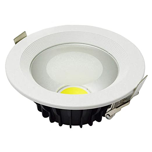 10pcs 3 años de garantía 30 W LED abajo luz COB LED techo Downlight, intensidad