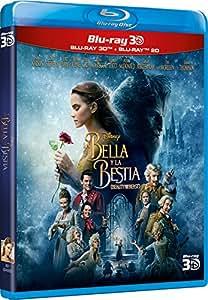 La Bella Y La Bestia - Edición Estándar (3D + 2D) [Blu-ray]