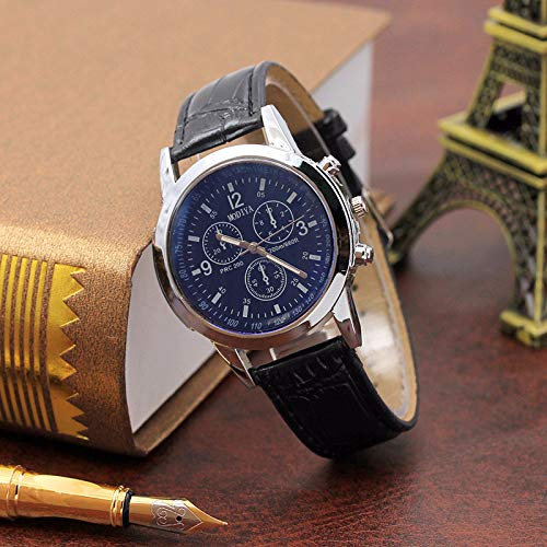 Amazon.com: LtrottedJ® Blu Ray Glass Watch Neutral Quartz Simulates The Wrist Watch: Health & Personal Care