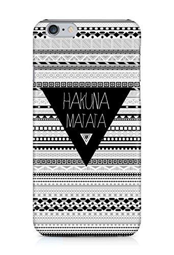Cover Hakuna Matata Handy Hülle Case 3D-Druck Top-Qualität kratzfest Apple iPhone 6 / 6S