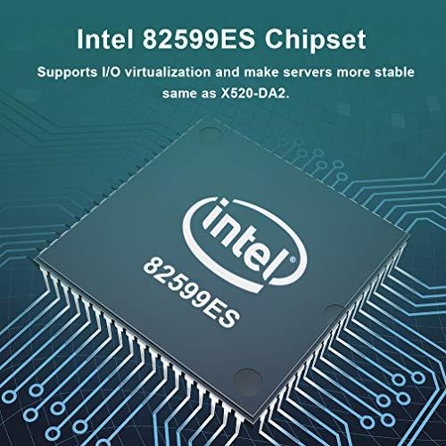 10Gb PCI-E Network Card X520-DA2, Dual SFP+ Ports for Intel