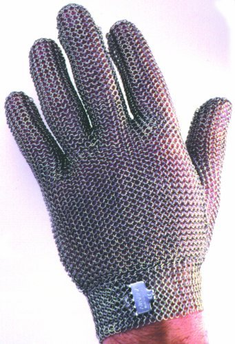 professional choose 'ÏØ wounds health and safety stainless steel mesh gloves Niro flex GU-2500 (M) by Nilo flex (Image #3)