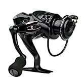 Spinning Fishing Reel, LinkStyle Spinning Reel Full Metal Body Light Weight Ultra Smooth 12+1 Ball Bearings 5.5:1 Powerful Carbon Fiber Drag for Boat Rock Freshwater Saltwater Fishing 3000 Series Review