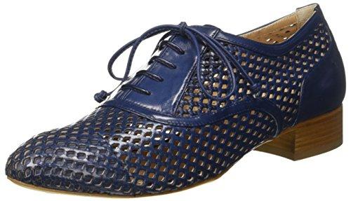 Lorenzo Masiero S171B046, Zapatos de cordones Mujer Azul (Azul Navy)