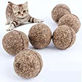 Catnip Ball-Catnip Treats-Pet Cat Natural Catnip Treat Ball Favor Home Chasing Toys Healthy Safe Edible Treating