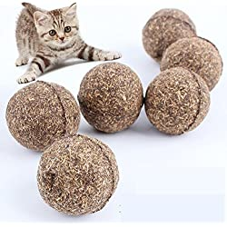 Catnip Ball-Catnip Treats-Pet Cat Natural Catnip Treat Ball Favor Home Chasing Toys Healthy Safe Edible Treating