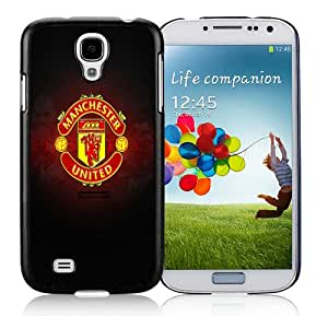 Manchester United Logo iPhone 5 Wallpaper Black Durable Hard Shell Samsung Galaxy S4 I9500 Phone Case