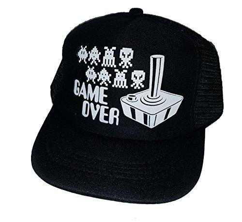Game Over Arcade Toddler Mesh Trucker Hat Cap Snapback ()
