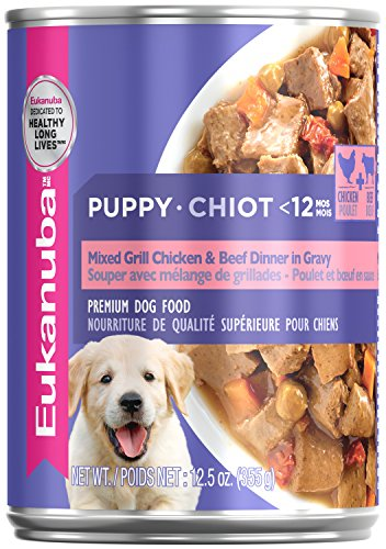 Eukanuba Wet Food Puppy Mixed Grill Chicken & Beef Dinner in