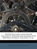 Madjalah Ilmu Alam Untuk Indonesia. Indonesian Journal for Natural Science, Volumes 17-18..., , 1271154765