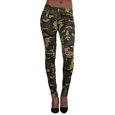 Pantalones para Mujer Slim Fit Transpirables Pantalones ...