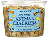 Trader Joes Organic Animal Crackers 16 Oz.