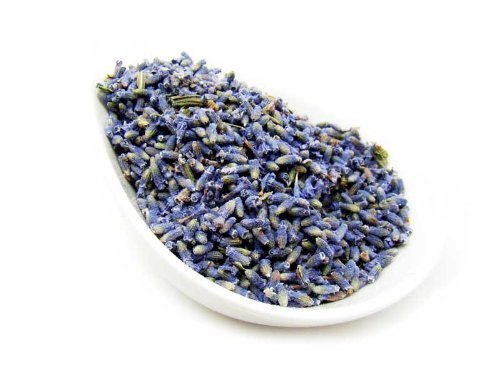 Lavender Buds - French Premium Quality Dried Loose Buds from Nature Tea (8 oz)