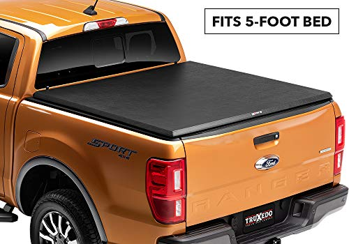 (Truxedo 231001 fits 2019 Ford Ranger 5' TruXport Soft Roll Up Truck Bed Tonneau Cover)