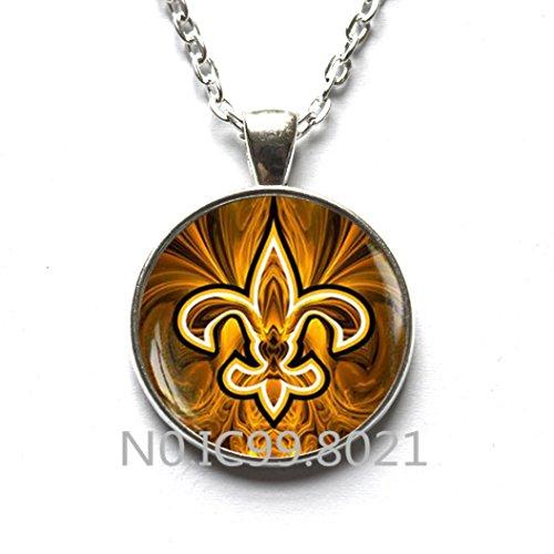 (FashionNecklaceFashionPendant Fleur de lis necklace, Fleur de lis pendant, fleur de lis jewelry, heraldry jewelry royal heraldic sign,A118)