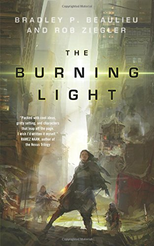 book cover of The Burning Light