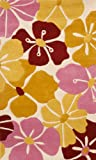 SI Area Rugs 1015 Sams Kids Area Rug, 3 by 5-Feet, Gold/Pink/Red