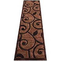 Modern Runner Rug #154 Americana Brown (32 In. X 10 Ft.)