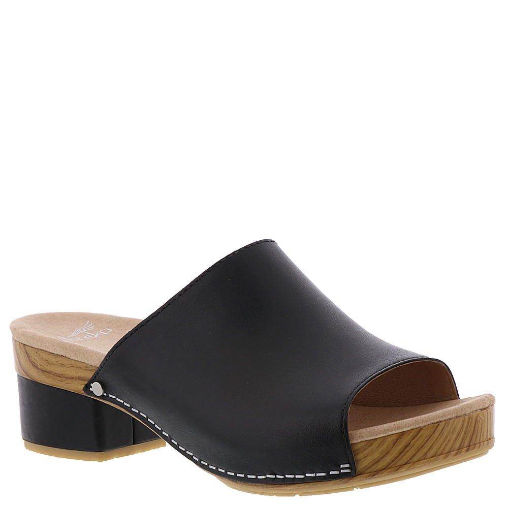 Dansko Womens Maci Sandals, Black, 38 M EU