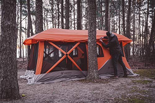 innovative design d2f86 58cc8 Gazelle 26800 T4 Plus Pop Up Portable Camping Hub Tent, 4-8 person - The  Camping Companion