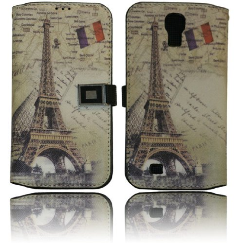 Amazon samsung galaxy s4 i9500 world map pu leather wallet flip samsung galaxy s4 i9500 world map pu leather wallet flip case cover with business credit reheart Image collections