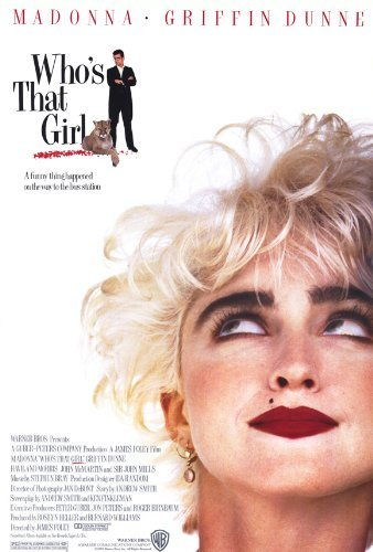 Who's That Girl? POSTER Movie