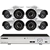 Lorex 16-Channel HD Analog DVR with 2TB HDD, 8 1080p Cameras with 130 Night Vision